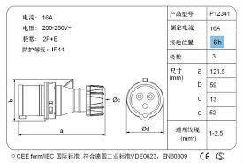 3pin industrial commando plug buy 3pin commando plug ip55