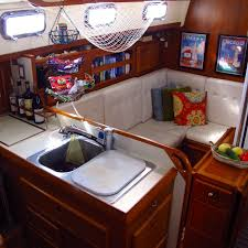 Windtraveler Making A Boat A Home The Art Of Decorating A Boat - Boat interior design ideas