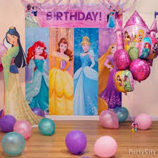 disney princess party table idea party city
