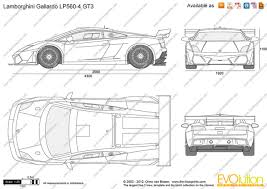 lamborghini car drawing the blueprints com vector drawing lamborghini gallardo lp560 4 gt3