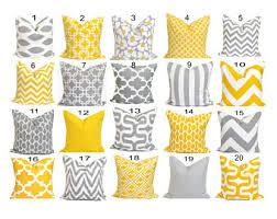 Home Decor Cushions Yellow Pillows Etsy