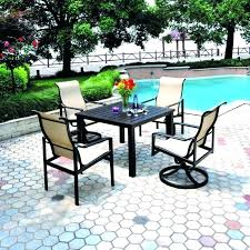 Patio Table Size Hanamint Patio Furniture Reviews Patio Furniture For