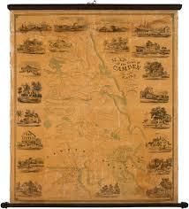 map of camden maine camden maine in 1856 antique maps
