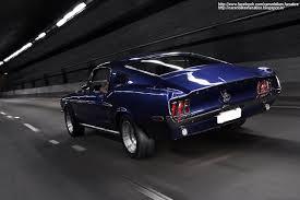 Black 68 Mustang Fastback 1968 Ford Mustang Fastback Wallpaper Auto Datz