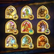 golden card hearthstone heroes of warcraft wiki fandom