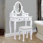 Table Vanity Mirror Bedroom Vanities Walmart