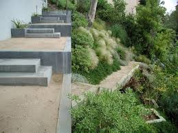 stone and grass stairs interior stair treads stone slabs making