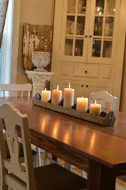 rustic centerpieces for dining room tables charming dining room candle centerpieces with best 25 kitchen table