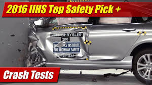 lexus es iihs crash tests 2016 iihs top safety pick winners testdriven tv