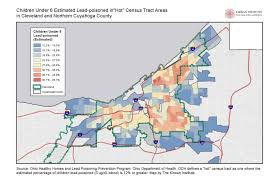 Map Of Medina Ohio by Dismal Lead Poisoning Screening Skews The Scope Of The Problem