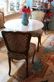 Stunning Animal Print Dining Room Chairs Ideas Home Design Ideas - Animal print dining room chairs