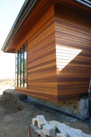 contemporary home with cedar horizontal siding images google