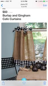 Coffee Bag Curtains by Pin By Sue Simon On Burlap Valances Pinterest Burlap Window