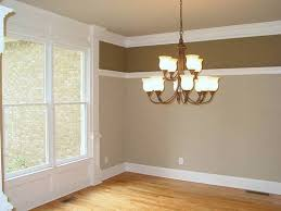 dining room rial maybe flip colors with dark on bottom my rail
