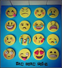 emoji cupcake toppers cake by renee daly toppers pinterest