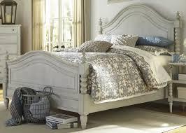 Grey Bedroom Furniture Sets Furniture Harbor View Iii Queen Poster Bed In Dove Gray 731 Br Qps