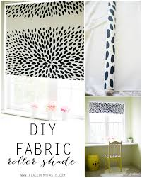 amazing diy roller shade idea c03 home inspiration