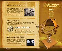 astrology best website templates