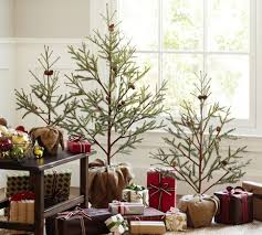 faux potted pine tree pottery barn idea and could use real
