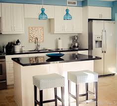 decorating gorgeous pendant lighting and small kitchen island