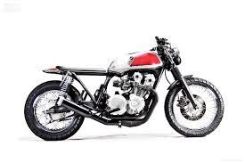 honda cb750 honda cb750 brat style transformation by motohangar