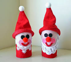toilet paper christmas crafts find craft ideas