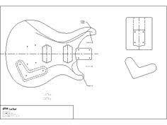 body templates woodworking guitar stuff pinterest body