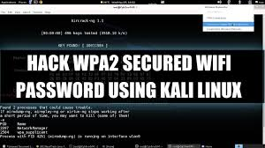 hack wpa2 psk secured wi fi password using linux