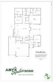 phoenix sales floor prelim 12 9 2015 amyx signature homes