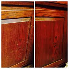 cleaning kitchen cabinets with baking soda clean gunk off kitchen cabinets one part vegetable oil to two parts