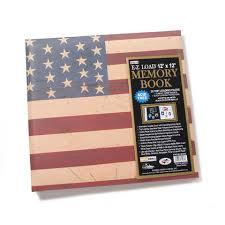 pioneer ez load memory book pioneer ez load memory book scrapbook album americana flag 12 x 12