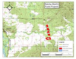 Alaska Fire Map by Community Wildfire Protection Plans Cwpp