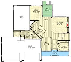 Exclusive Craftsman House Plan with Optional Sport Court and Rec