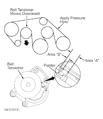 1992 lexus ls400 1992 lexus ls 400 serpentine belt routing and timing belt diagrams