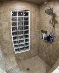 glass block bathroom ideas windows awning your shower install walk with bathroom ideas walk
