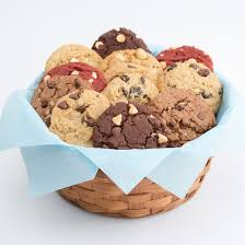 cookie basket delivery gourmet cookie basket dozen cookies by design