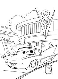 disney character chevy cars coloring pages place color