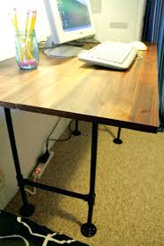 diy pipe desk plans 7 diy industrial desks you can make shelterness within how to a pipe