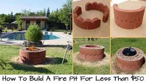 How To Build Your Own Firepit How To Make A Pit How To Easily Build A Pit