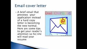 how to email cover letter and resume email cover letter format youtube email cover letter format