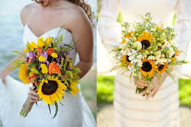 sunflower bouquets friday flowers sunflowers elizabeth designs the wedding
