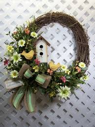 Grapevine Floral Design Home Decor The 39 Diy Spring Wreaths For The Front Door That You Can Make