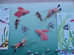 ornaments 20 vintage aquarium decor scuba diver sea fish