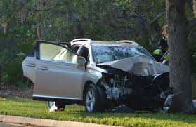 lexus in palm beach two killed one critical in single vehicle crash on hammock dunes