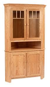 shaker impression corner hutches ohio hardword u0026 upholstered