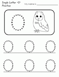 letter o worksheets for kindergarten letter o worksheets for
