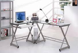 Leda Computer Desk Glass Computer Desk Image Of Small Corner Computer Desk With