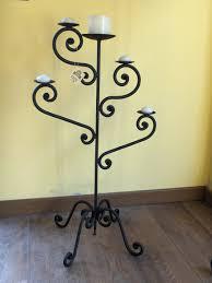 candelieri in ferro battuto candeliere albero la casa ferro battuto