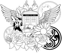 tardis coloring pages coloring book 3243 unknown