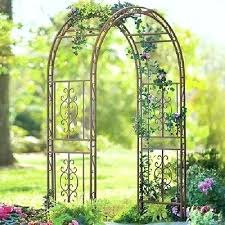 lowes wedding arches garden metal trellis jobi club